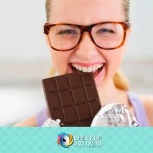 Chocolate : um aliado da boa visão